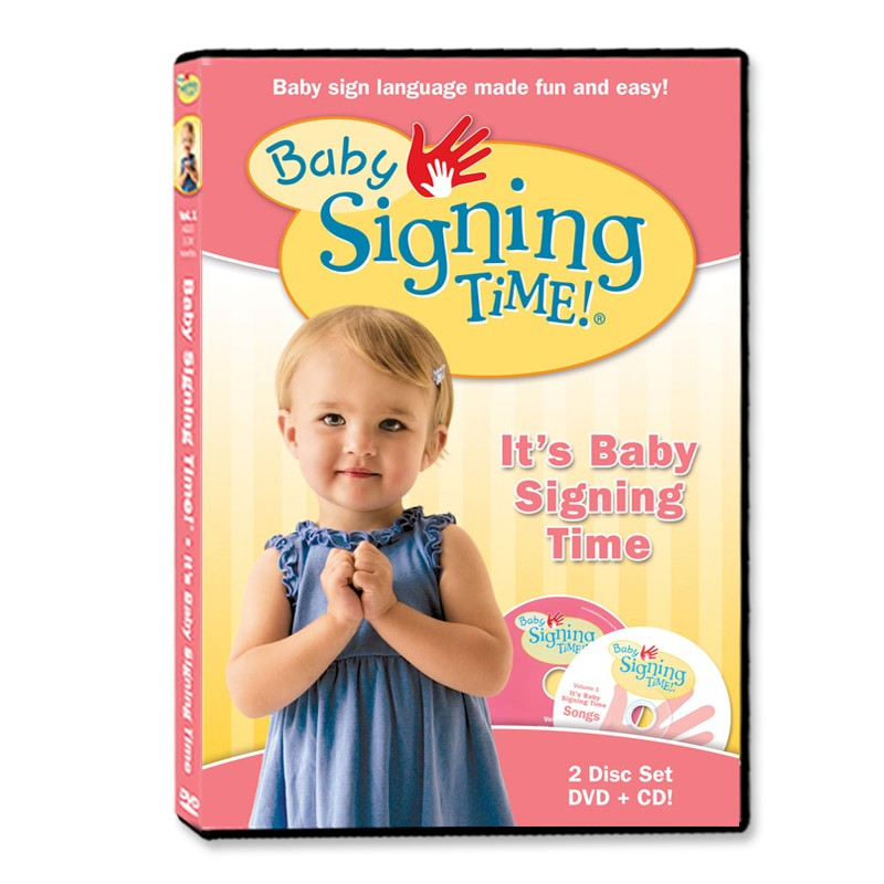 Baby Signing Time DVD/CD 1: It's Baby Signing Time - 823860003376