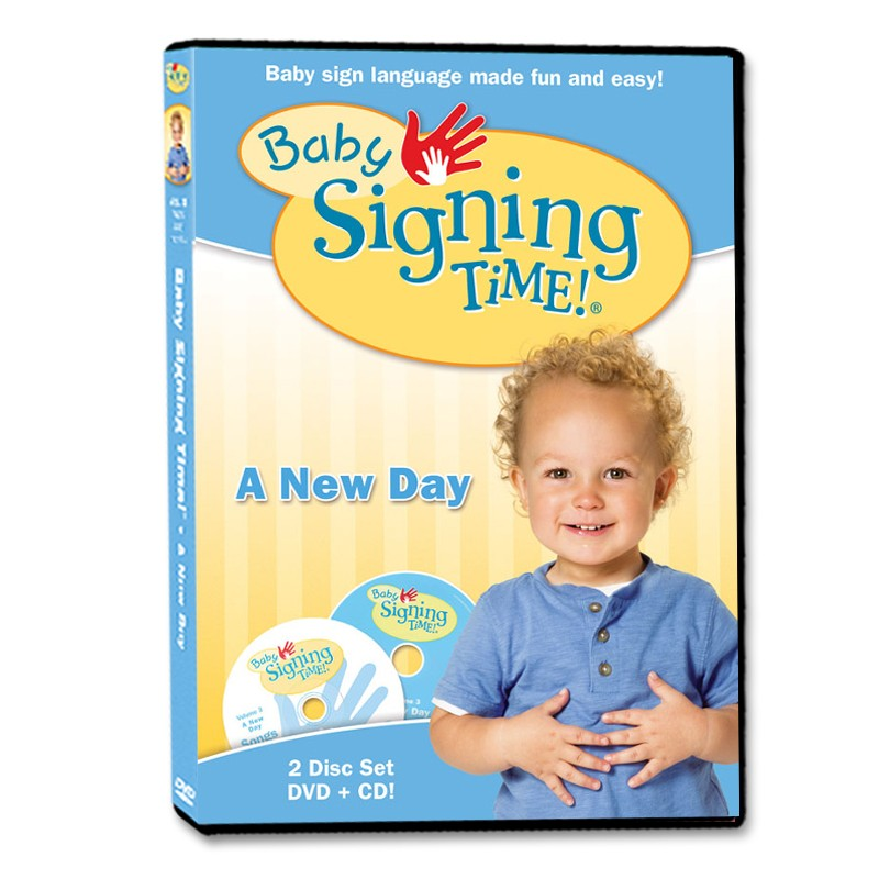 Baby Signing Time DVD/CD 3: A New Day