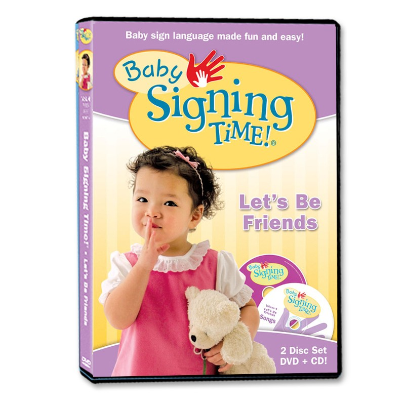 Baby Signing Time DVD/CD 4: Let's Be Friends