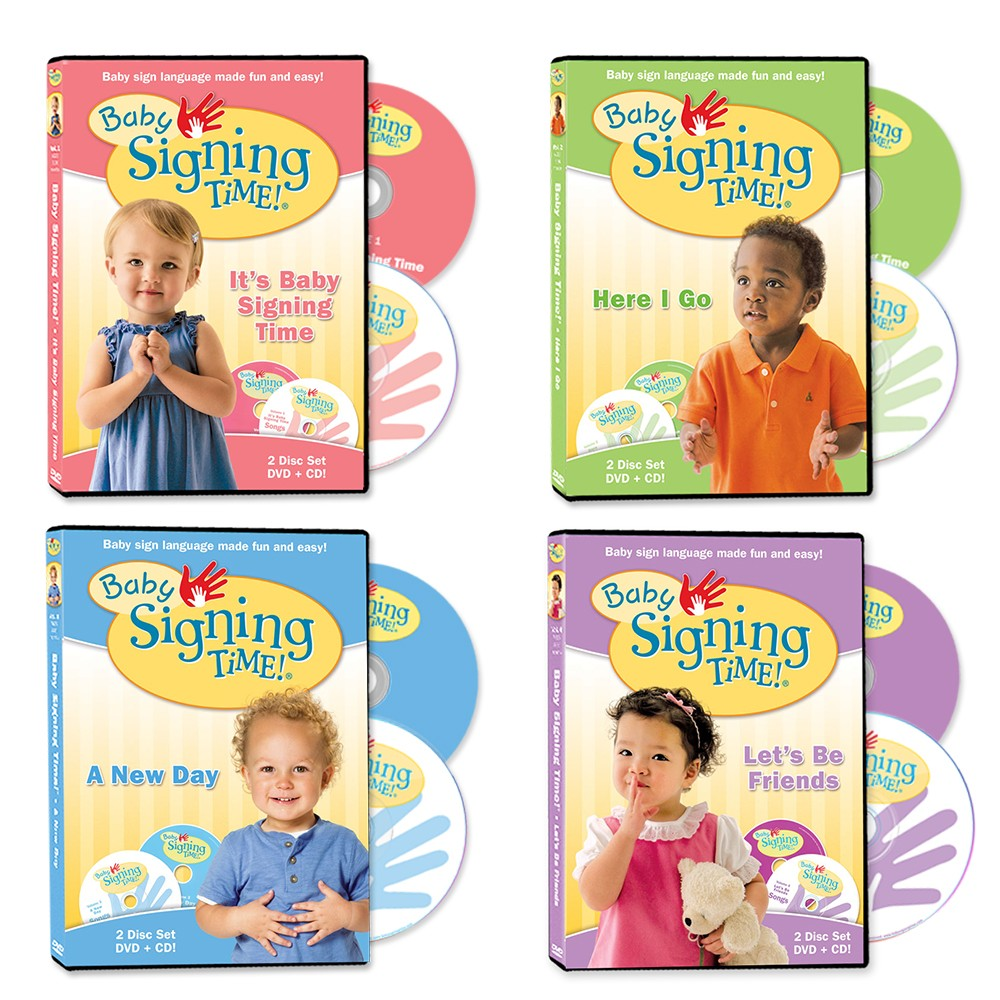 Baby Signing Time DVDs 1-4
